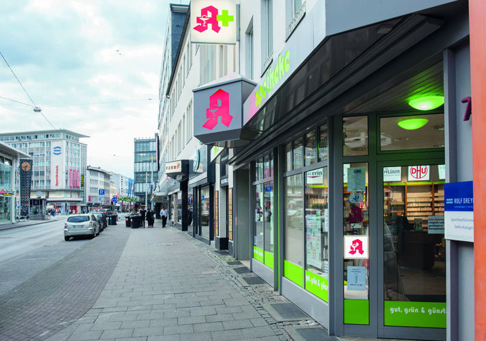 Niederwall Apotheke Bielefeld
